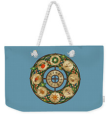 Celtic Wheel Of The Year Weekender Tote Bag
