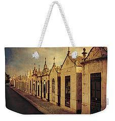 Cemetary In Santarem Portugal Weekender Tote Bag