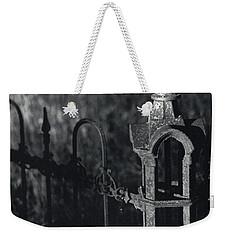 Cemetery  Fence Weekender Tote Bag