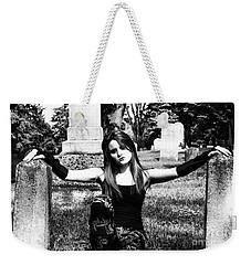 Cemetery Girl Weekender Tote Bag