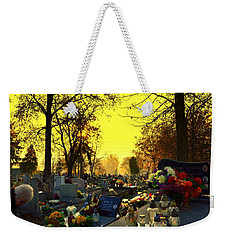 Cemetery In Feast Of The Dead Weekender Tote Bag