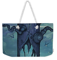 Weekender Tote Bag featuring the painting Cenotaph by Andrew Batcheller