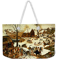 Census At Bethlehem Weekender Tote Bag