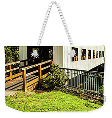 Centennial Bridge Weekender Tote Bag