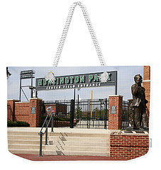 Center Field Entrance At Huntington Park  Weekender Tote Bag