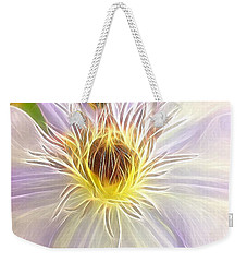 Center Lit Weekender Tote Bag
