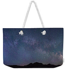 Center Of The Milky Way Over The Badlands Weekender Tote Bag
