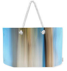 Center Panel Movign Trees 13 Weekender Tote Bag