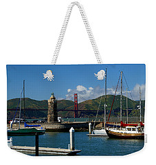 Center Piece Weekender Tote Bag
