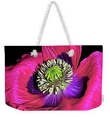 Centerpiece - Poppy 020 Weekender Tote Bag by George Bostian