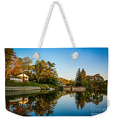 Centerport Harbor Autumn Colors Weekender Tote Bag