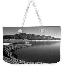 Weekender Tote Bag featuring the photograph Centimudi In Black And White by Joyce Dickens