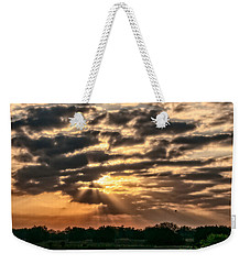 Weekender Tote Bag featuring the photograph Central Florida Sunrise by Christopher Holmes