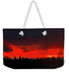 Central Oregon Sunset Weekender Tote Bag