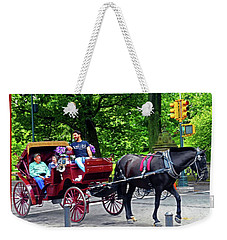 Central Park 5 Weekender Tote Bag