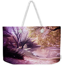 Central Park Weekender Tote Bag by Carol Crisafi