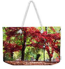 Central Park In Manhattan Weekender Tote Bag