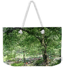 Central Park Montage Weekender Tote Bag by Dave Beckerman