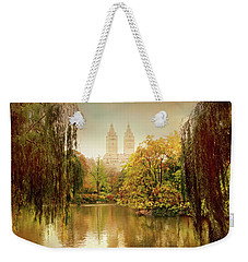 Weekender Tote Bag featuring the photograph Central Park Splendor by Jessica Jenney