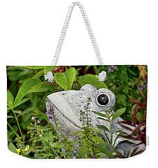 Ceramic Frog Weekender Tote Bag by John Black