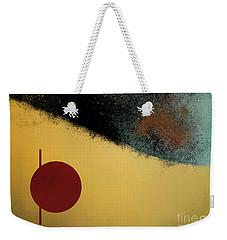 Weekender Tote Bag featuring the digital art Ceramic Pixels by Nola Lee Kelsey