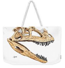 Ceratosaur Skull Weekender Tote Bag