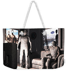Cerebral Incinerator Weekender Tote Bag by John Alexander