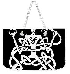 Cernunnos Bw Weekender Tote Bag