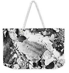 Certain Changes Weekender Tote Bag