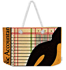 Certified Public Accounting Issue Weekender Tote Bag