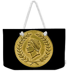 Julius Cesar Roman Coin Weekender Tote Bag