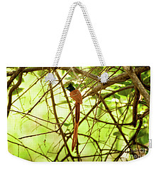 Ceylon Paradise Flycatcher Weekender Tote Bag