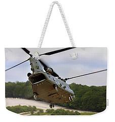 Ch47 Chinook On Manoeuvres Weekender Tote Bag