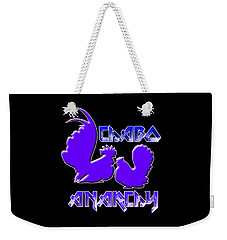 Chabo Anarchy Bluepurple Weekender Tote Bag