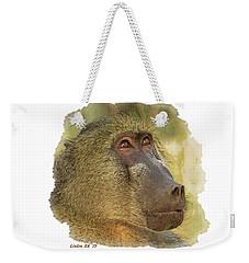 Chacma Baboon 6 Weekender Tote Bag