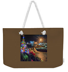 Chagrin Falls At Christmas Weekender Tote Bag