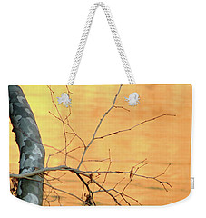 Chagrin River Gold Weekender Tote Bag