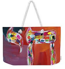 Chai Of Many Colors- Art By Linda Woods Weekender Tote Bag