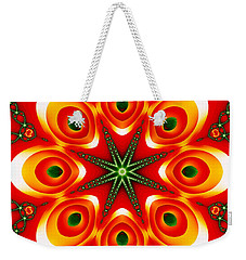 Chained Sunburst Weekender Tote Bag