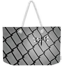 Chainlink Dragon Fly Weekender Tote Bag