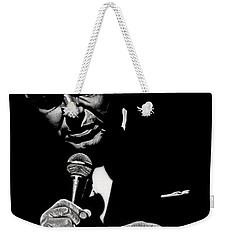 Chairman Of The Board Weekender Tote Bag by Dan Menta