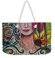 Chakra Mandla Weekender Tote Bag