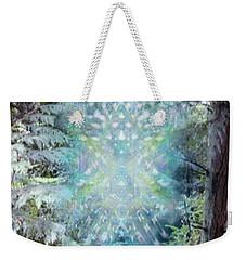 Chalice-tree Spirit In The Forest V3 Weekender Tote Bag by Christopher Pringer