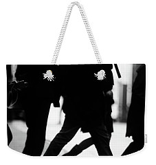 Weekender Tote Bag featuring the photograph Challenge Of Peace  by Empty Wall