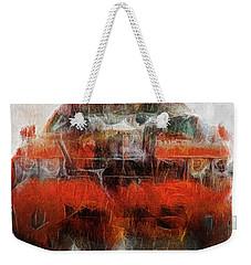 Challenger Wash Weekender Tote Bag by Michael Cleere