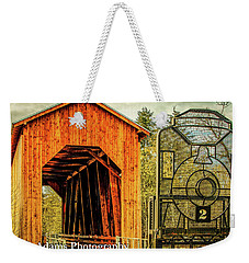 Chambers Railroad Bridge Weekender Tote Bag