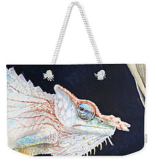Chameleon Weekender Tote Bag