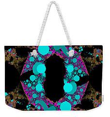 Weekender Tote Bag featuring the digital art Chamention by Andrew Kotlinski
