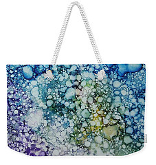 Champagne Bubbles Weekender Tote Bag
