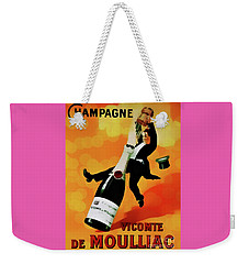 Champagne Celebration Weekender Tote Bag